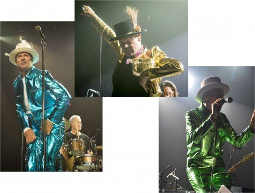 Gord Downie's dazzling suits were created by Canadian designer Izzy Camilleri