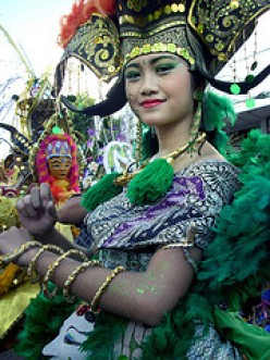 A Journey to Solo Batik Carnival 2009