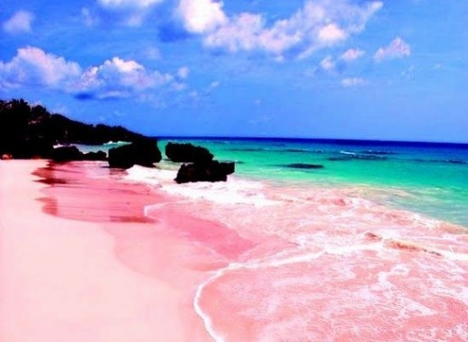 7 Different Color Sand Beaches In The World Hubpages