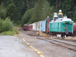 Pa's train