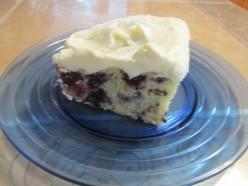 Blueberry Zucchini Cake With Creamy Lemony Frosting