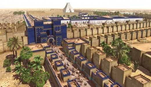 Did Ancient Babylon really look this good?