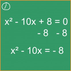 Algebra: Completing the Square to Solve Quadratic Equations