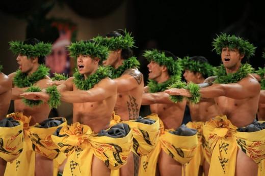 2015 Kahiko 1st place,Kāne Division, Ka Leo O Laka I Ka Hikina o Ka Lā, Kumu Hula Kaleo Trinidad