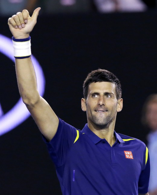 World #1: Novak Djokovic