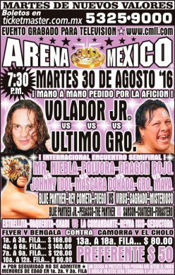 LuchaPalooza! CMLL Tuesday Preview (Volador-UG II)