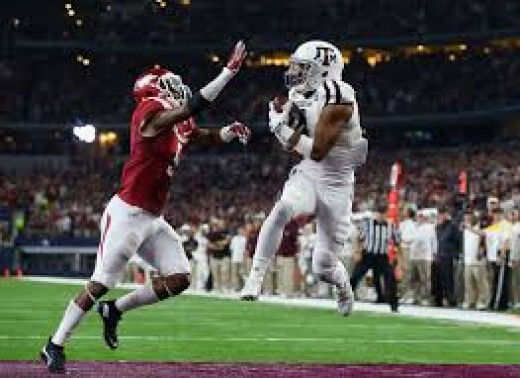 WR/KR Christian Kirk (Texas A&M) '15 80rec 1,009yds 7td
