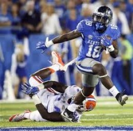 RB Stanley Williams (Kentucky) '15 121att 855yds 6td 13rec 74yds