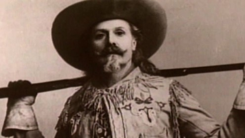 (See caption underneath photo of Wyatt Earp) but bravo! Cudo's to Buffalo Bill's son for also giving him a strong, manly name