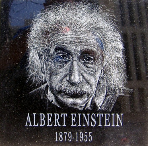 Albert Einstein, the Great Man of Science, is famous for the discovery of The Theory of Relativity.