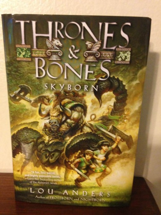 "Final book in the ""Thrones and Bones"" trilogy"