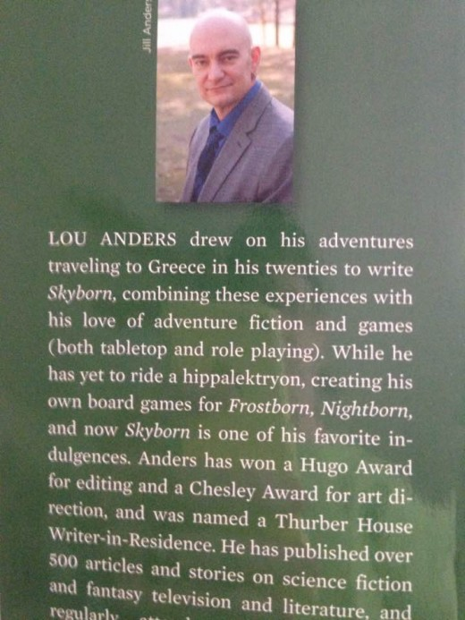 Get acquainted with author Lou Anders