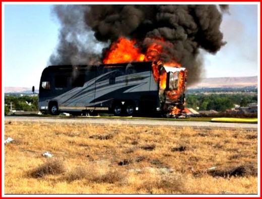 If a faulty electrical system causes your new RV to catch on fire, your insurance company may help you but your RV Dealer will not.