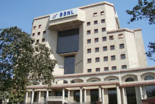 BSNL Headquarter in New Delhi, India