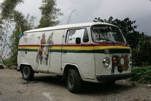 A Typical Bus in the Caribbean