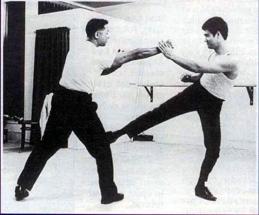 Bruce Lee, the creator of JKD, came under a lot of fire for blending Chinese techniques with foreign ones as well as teaching them,