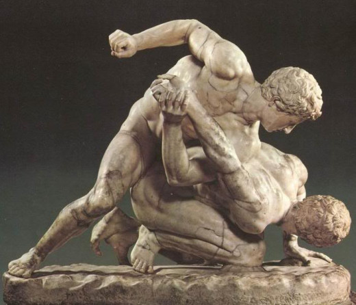 Arguably the first documented mixed style, Pankration was developed in Ancient Greece and used until the Byzantine Empire