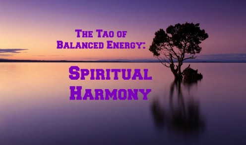 Spiritual harmony is part of balanced energy.