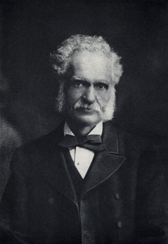 A photograph of Henry Walter Bates.