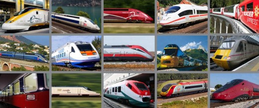 Have fun discovering how many of these trains require reservations, even with a rail pass.
