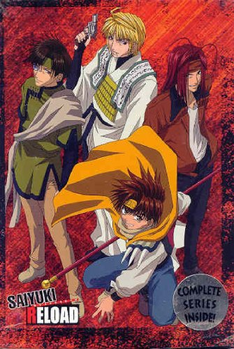 The main characters of the Saiyuki series have their own sad and tragic pasts that they have to deal with