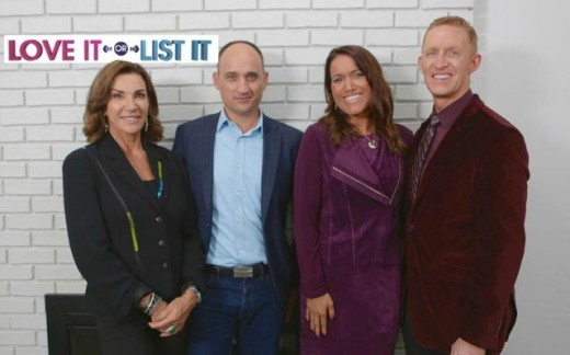 (from left to right): Hilary Farr, David Visentin, Deena Murphy, and Timothy Sullivan