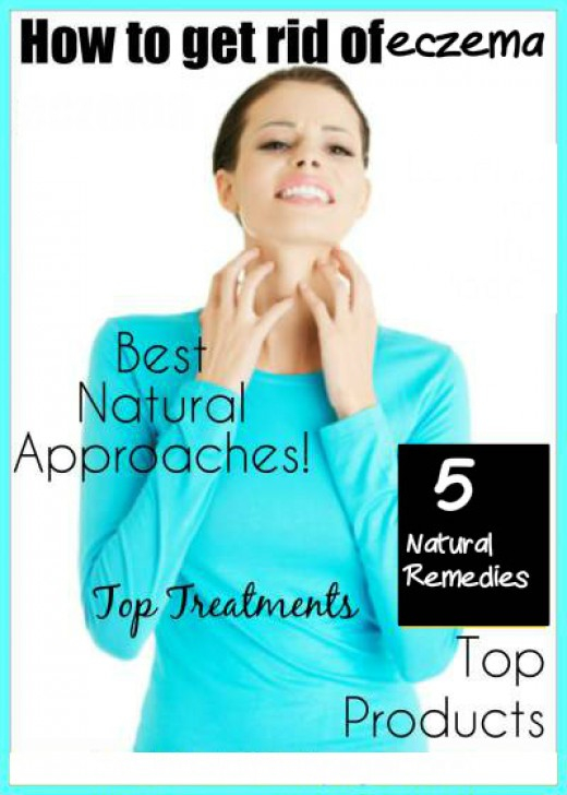 Get rid of eczema with natural approaches and effective skin care products.