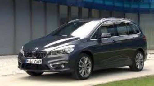 The BMW F46 2-Series Gran Tourer is a 5-door minivan and it comes with a 1.5 L turbo 3-cylinder and a separate electric motor.