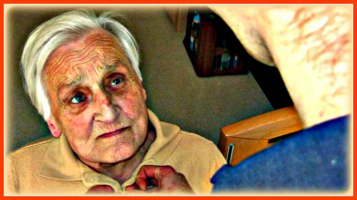 Many elderly become completely dependent on others for help.