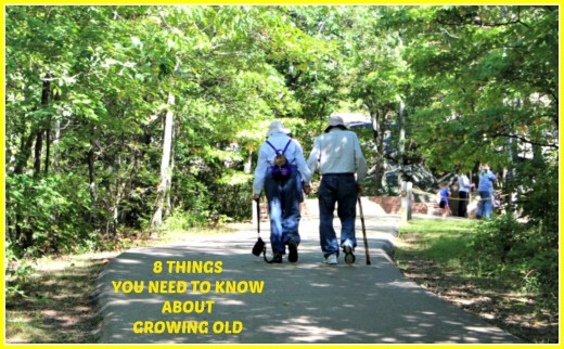 The realities involved in growing old are not pretty.