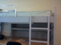 My luxurious dorm room.