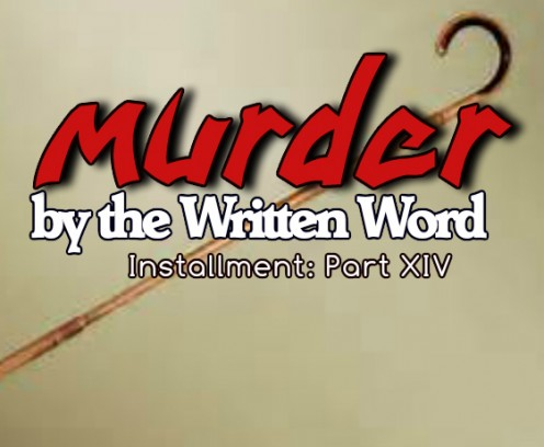Murder by the Written Word XIV