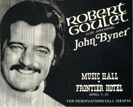 Frontier Robert Goulet 1971
