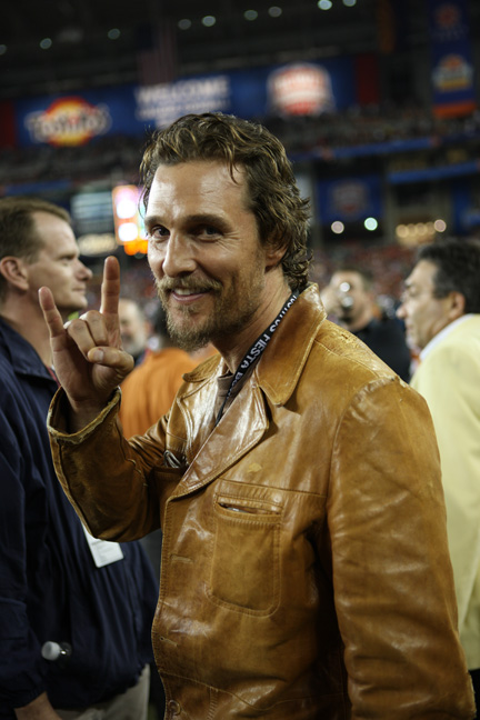 McConaughey is a graduate of The University of Texas