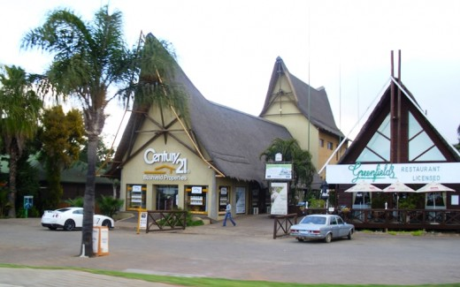 Beautiful Shopping Centers in South Africa! This one in Bela-Bela (Warmbad)