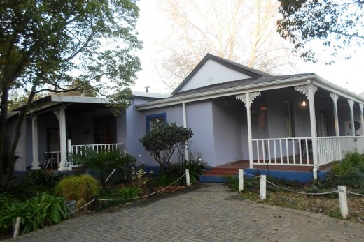 Beautiful renovated old houses in South Africa. This one part of the Purple House (guesthouse) in Winterton