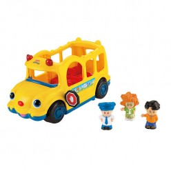 A Timeless Learning Toy-Fisher-Price Little People Lil' Movers School Bus