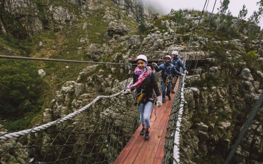 Zipline adventure in a prestine Cape Natural Environment