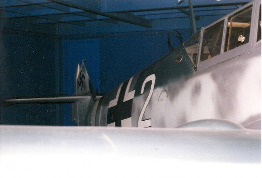 A Bf 109 at the National Air & Space Museum, Washington, DC 1999.