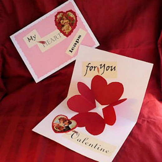 21 Easy Homemade Valentine Cards for School Exchange – Valentines Cards for School