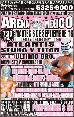 LuchaPalooza! CMLL Tuesday Preview (Uninspired)