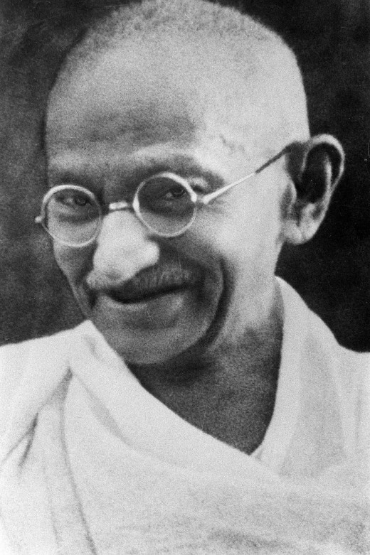 """Be the change that you wish to see in the world."" - Mahatma Gandhi"