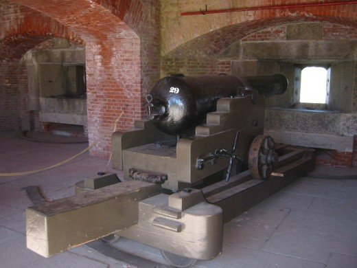 Inside Fort Delaware
