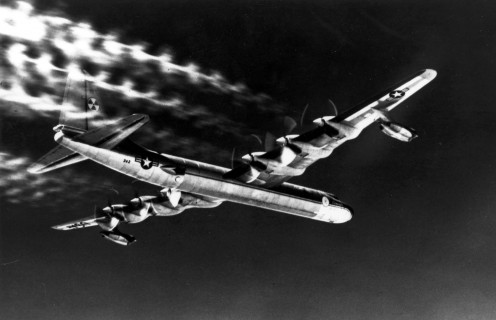 The version of the B-36 with the nuclear reactor in the tail.