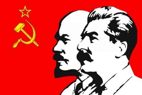 Vladimir Linen and Joseph Stalin