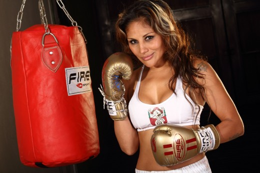 Female Boxer Mariana Juarez