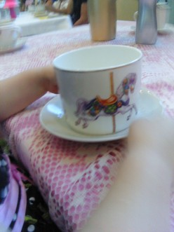Lily's Sweet Tea Cup at Mad Hatter's Tea Party