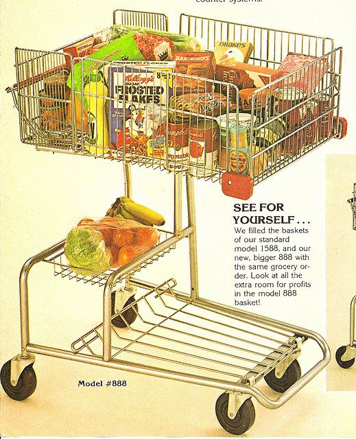 Remember pushing your first grocery cart?