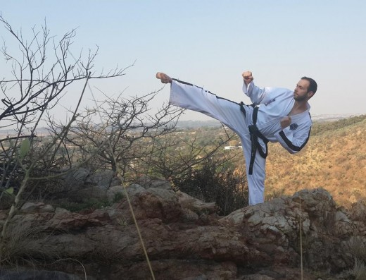 Martial arts training is a great way to clear the mind.