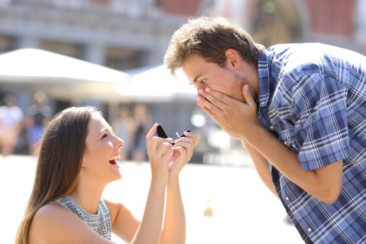 Women are taking a more active role in their engagement ring process.